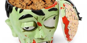 Bote para galletas zombie