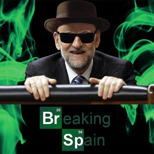 Breaking Spain y Rajoysenberg