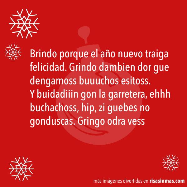 Brindis navideño