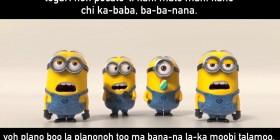 Canción de los Minions