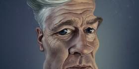 Caricatura de David Lynch