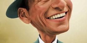 Caricatura de Frank Sinatra
