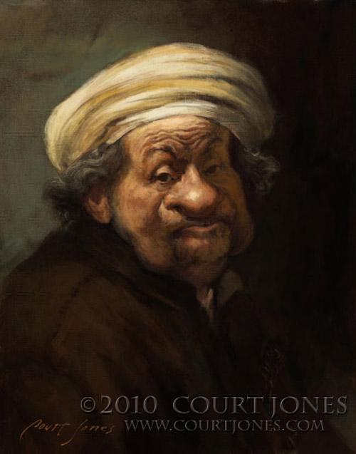 Caricatura de Rembrandt