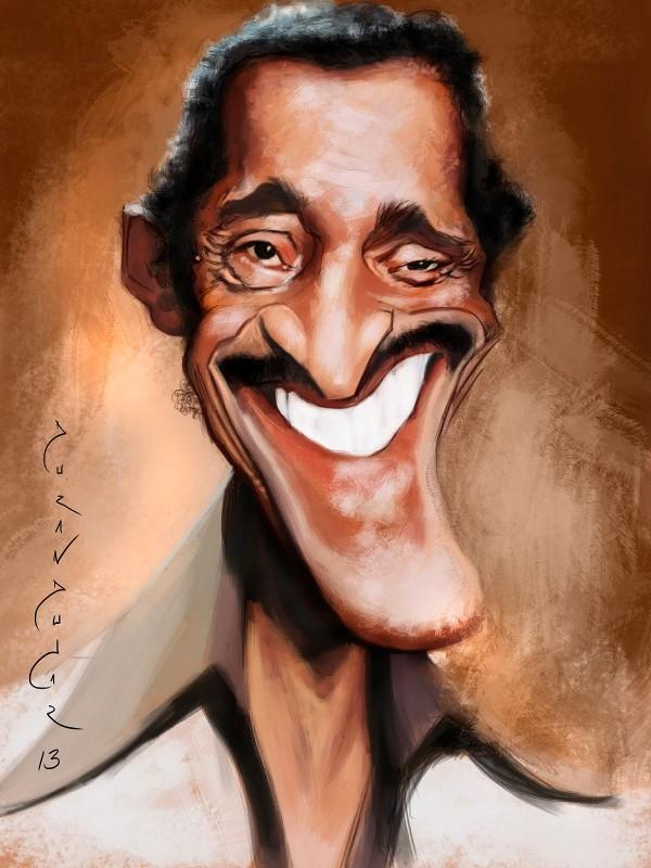 Caricatura de Sammy Davis, Jr.