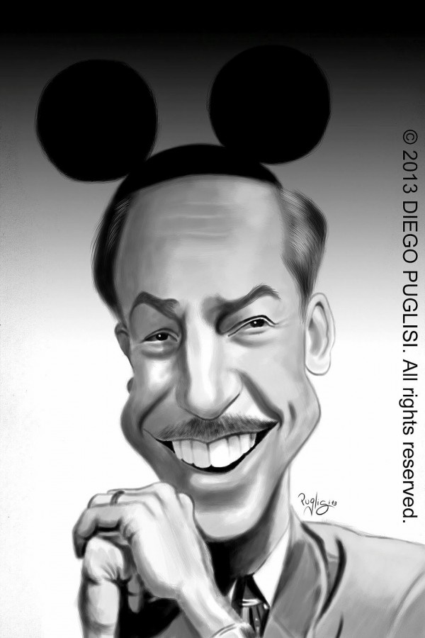 the significance of walter elias disney to animated cartoons (original caption) portrait of walter elias disney (1901-1966), originator of the vast disney empire consisting of theme parks, cartoons, and movies disney is waving and smiling for the camera in.