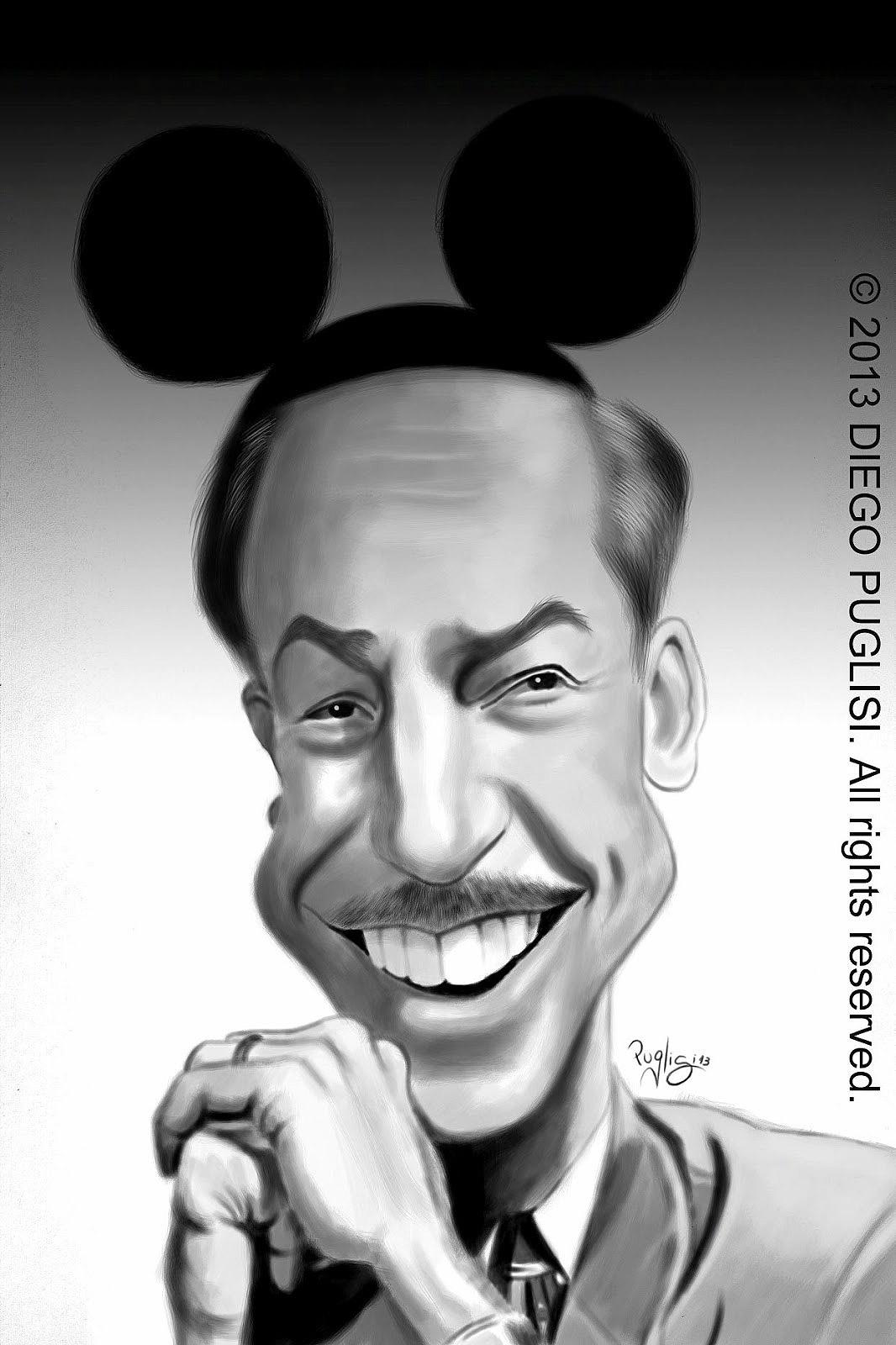 caricatura disney: