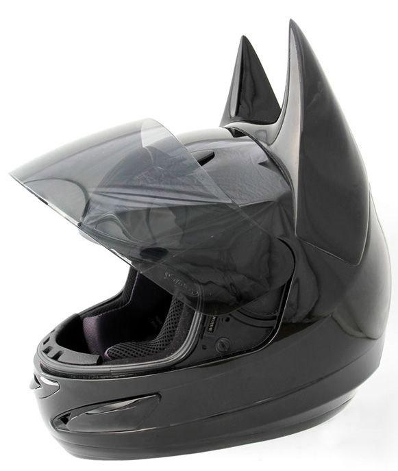 Casco de moto de Batman