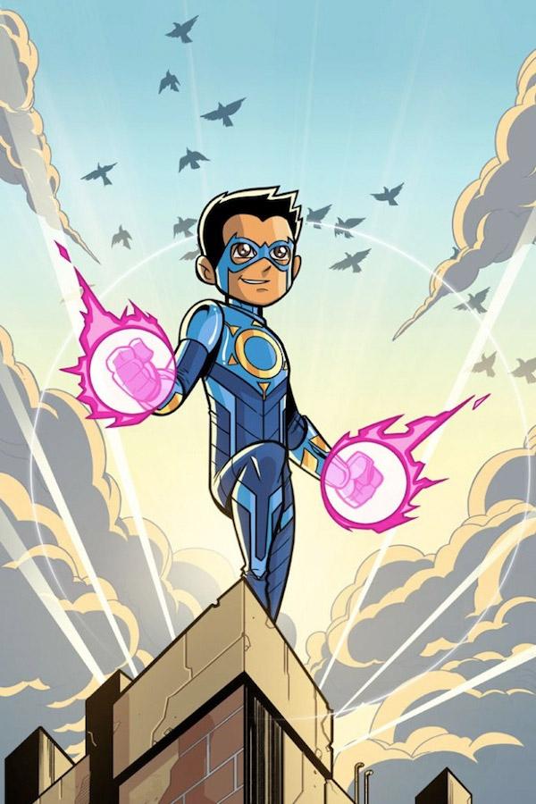 Chakra, el nuevo superhéroe de Stan Lee