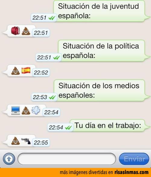 Conversaciones de WhatsApp: La mierda con ojos