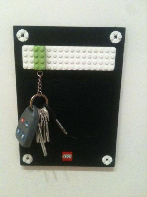 Cuelga llaves de LEGO