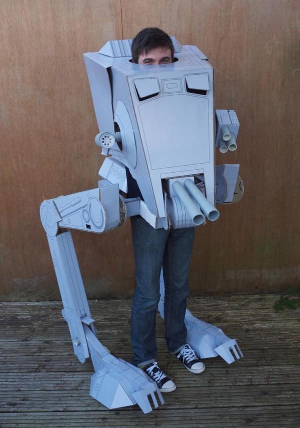 Disfraz de AT-ST de Star Wars