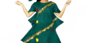 Disfraz de árbol navideño