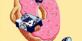 Donuts y policías