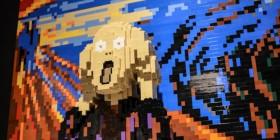 El grito versión LEGO