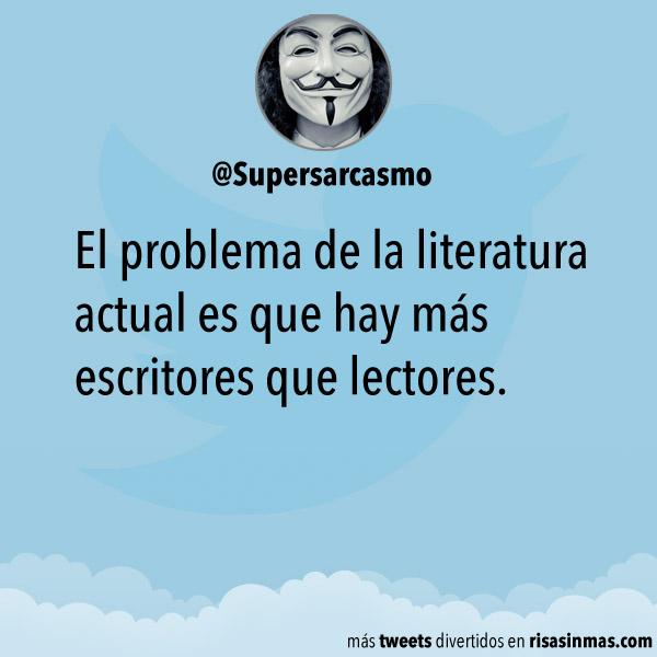 El problema de la literatura actual