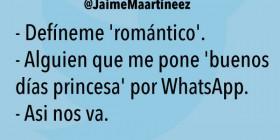 El romántico del WhatsApp