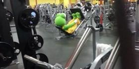 Equipado para el gimnasio