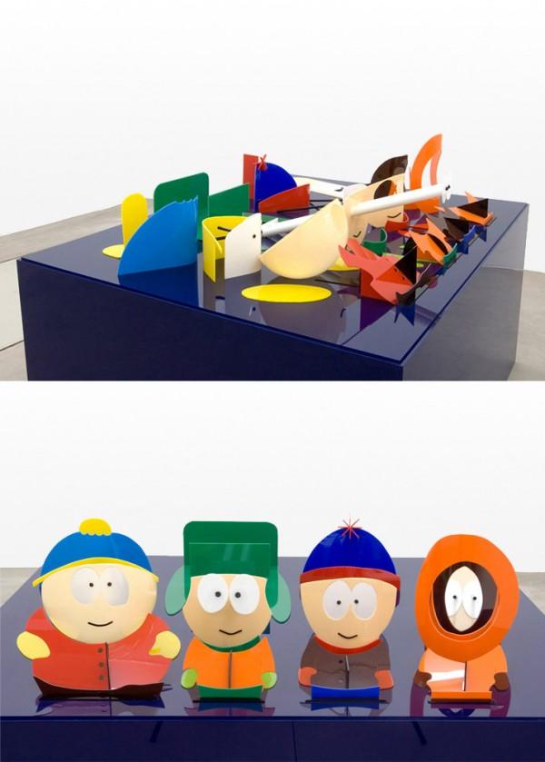 Escultura con perspectiva: South Park