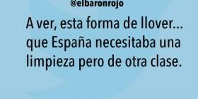 España necesitaba una limpieza