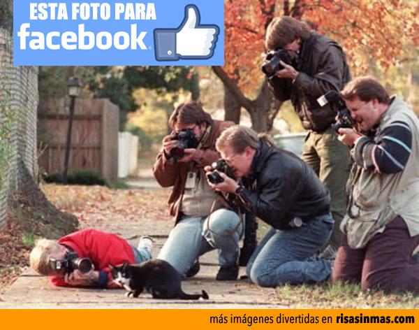 Esta foto para Facebook