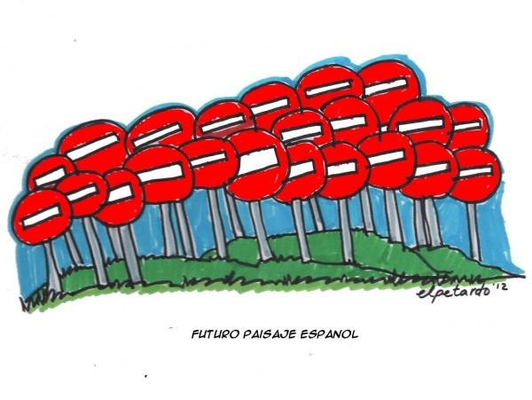 Futuro paisaje español
