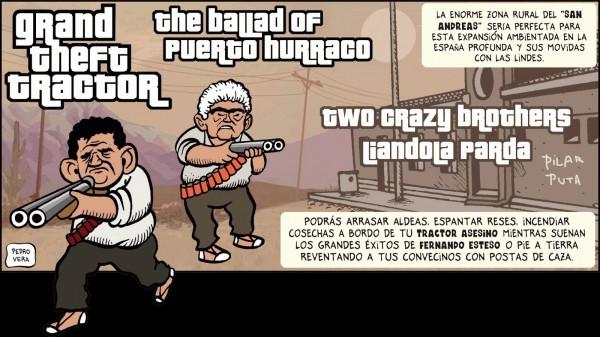 GTA V THE BALLAD OF PUERTO HURRACO