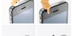 Gatitos para proteger del polvo el jack del iPhone