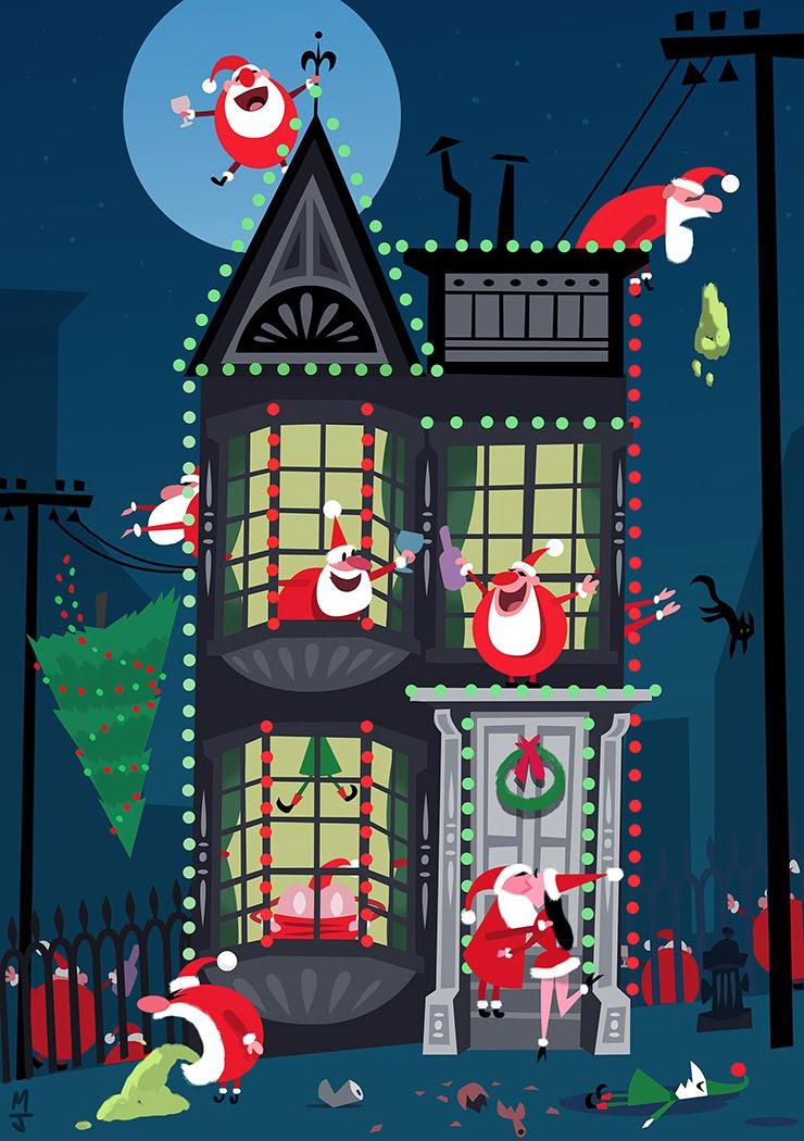 Al Baño Navidad Ha Llegado:Ha llegado Santa Claus