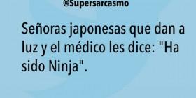Ha sido ninja