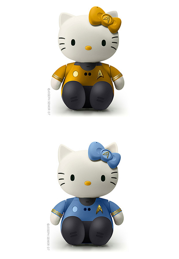 Hello Kitty: Star Trek