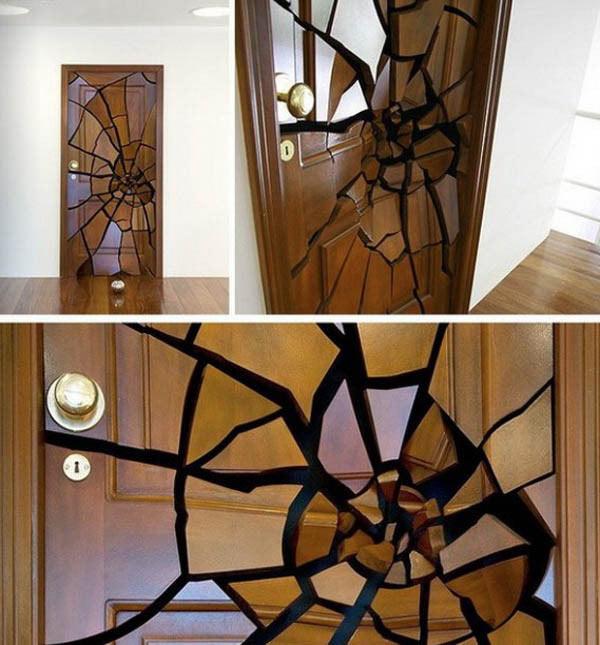 Ilusiones ópticas: Puerta rota