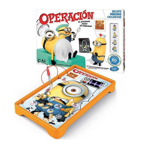 Juego Operación de Gru Mi villano Favorito 2
