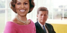 Parejas imposibles: John F. Kennedy y Michelle Obama