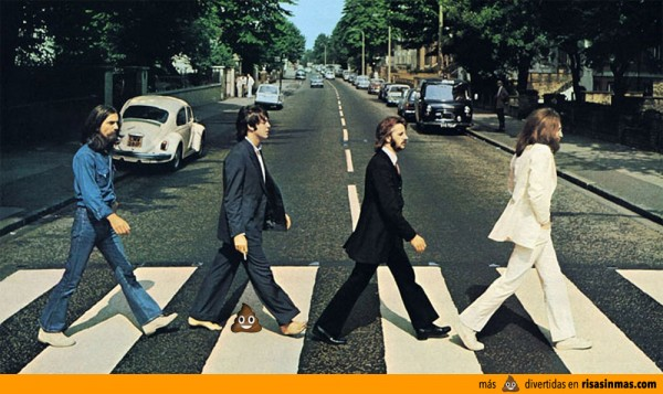 La Mierda del WhatsApp en Abbey Road