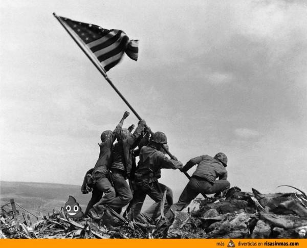 La Mierda del WhatsApp en Iwo Jima