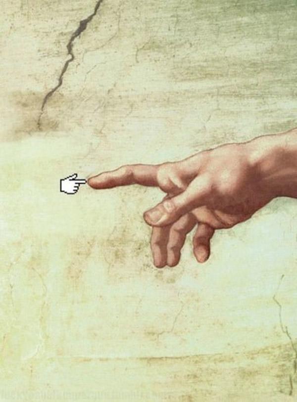 La creación de Adán en 2013