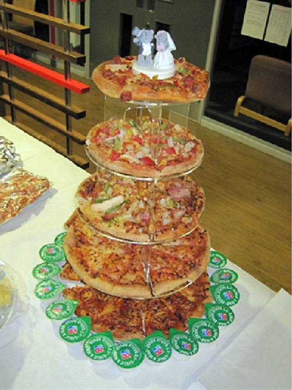 La madre de todas las tartas de boda