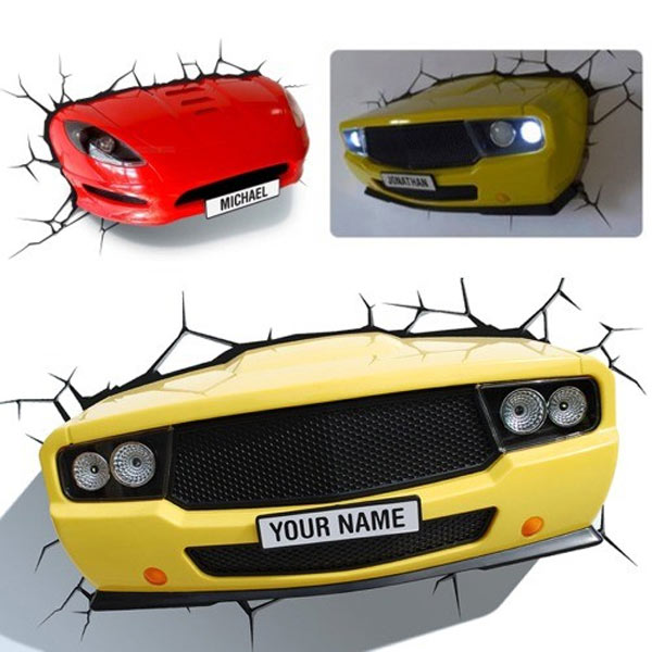 Lámpara coche 3D