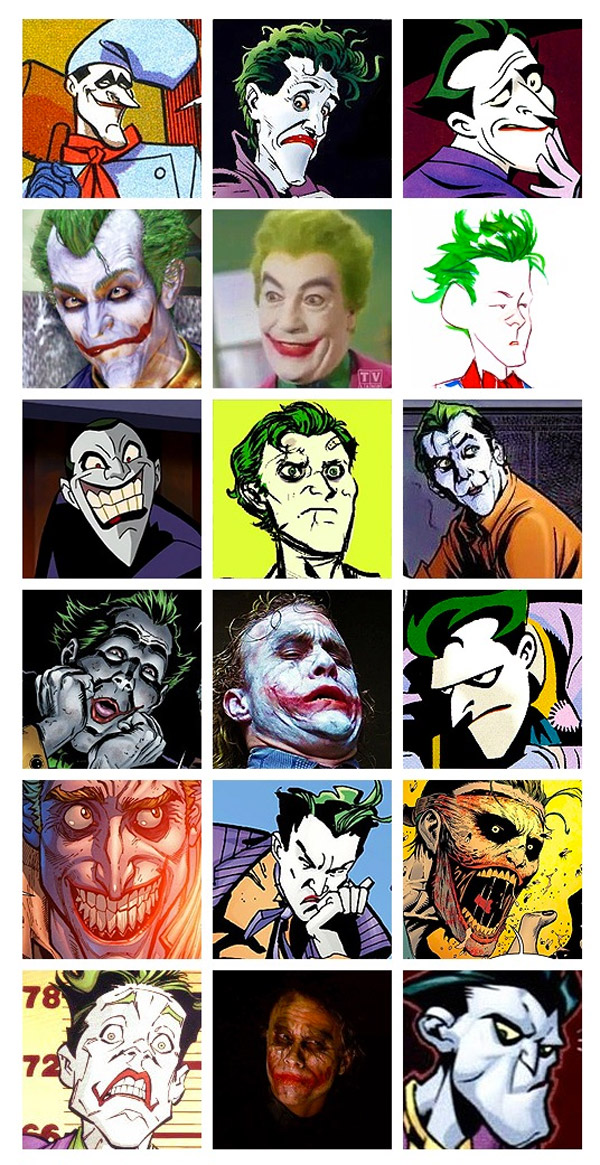 Las mil caras del Joker