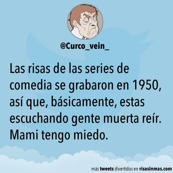 Las risas de las series de comedia