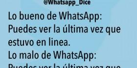 Lo bueno y malo de WhatsApp