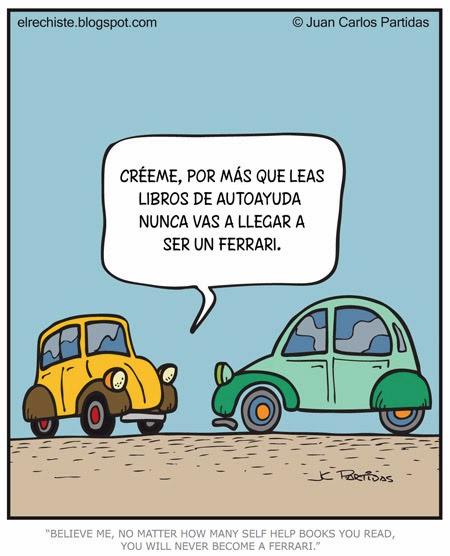 Los coches y la autoayuda