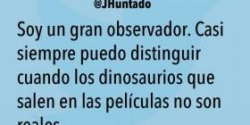 Los dinosaurios de las películas