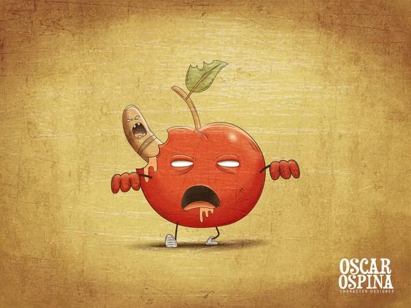 Manzana zombie