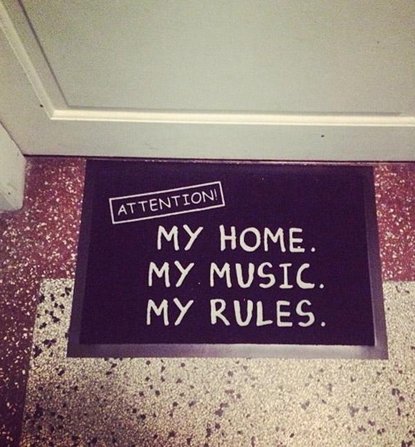 Mi casa, mi música, mis reglas