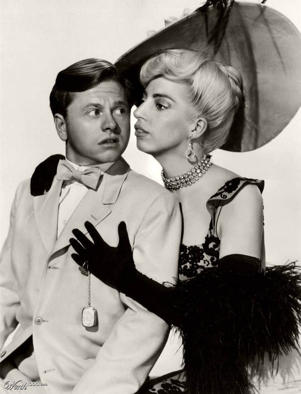 Parejas imposibles: Mickey Rooney y Lady Gaga