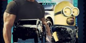 Minion de Dwayne Johnson en Fast & Furious