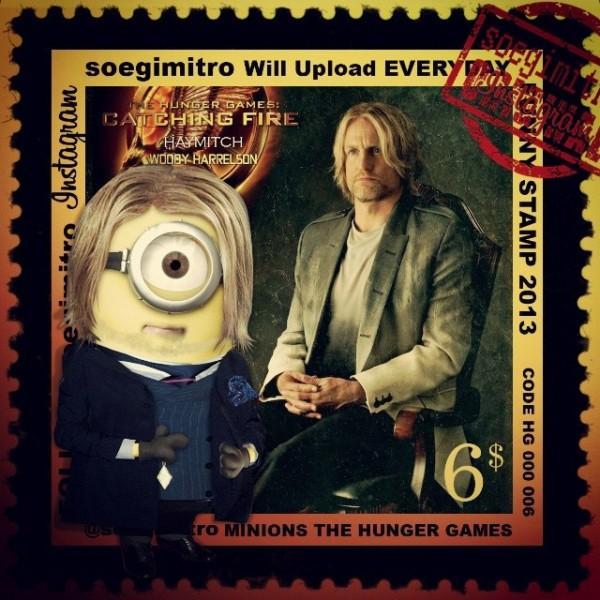 Minions Los juegos del hambre: Haymitch Abernathy
