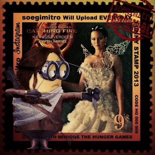 Minions Los juegos del hambre: Katniss Everdeen