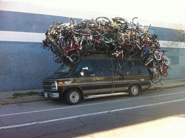 No te olvides la bicicleta